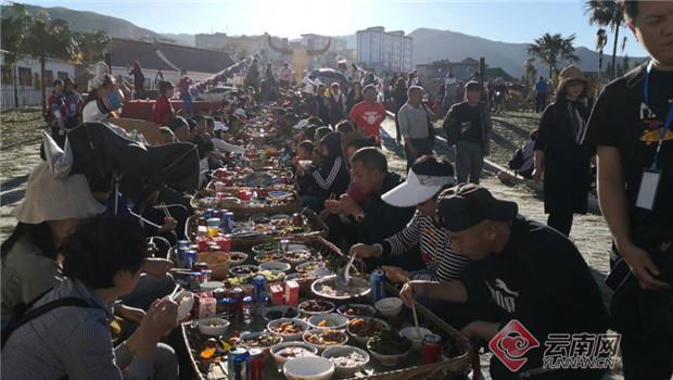 品哈尼长街宴、体验直升飞机俯瞰美景……红河县各族人民到底经历了怎样嗨的一天?