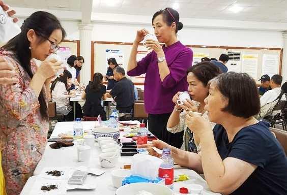 2020年首场上海市大众茶叶评审员普洱茶品鉴会举行
