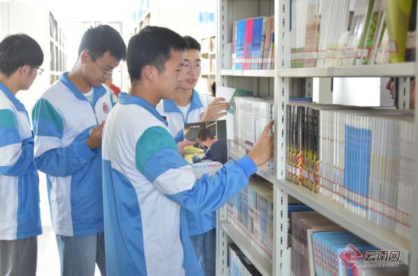 昆一中嵩明学校成立!近八千嵩明学子将享受优质教育资源